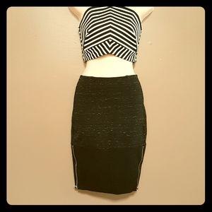 WILFRED double zip skirt